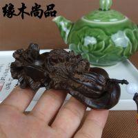 越南天然沉香木雕工艺品礼品 文玩白菜百财 手把件挂件 招财摆件