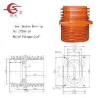 杭州曙光电器生产24kV高压穿墙套管(TGZ01-24)