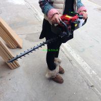 批发汽油背负式手提式双刃绿篱机 多用高效专业园林修剪机
