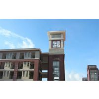 生产加工康巴丝牌现代学校钟,自动校对建筑大钟kts-x327