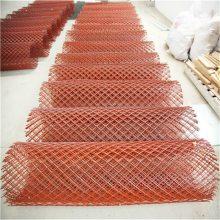 旺来Q235船舶钢板网 矿用菱形网机 钢防护网