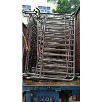 桂丰带广告牌活动铁马不锈钢材质价格