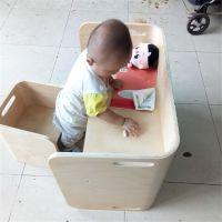 韩式木质儿童桌椅,曲木儿童学习桌椅,多层椅子加工定制,沃尔美定制