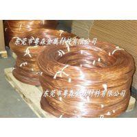 德国进口C10200无氧紫铜线 T3散热器专用紫铜排 T2电缆紫铜带规格