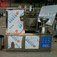 上海兢坤新款全自动商用豆浆机 即时豆腐机 时产500KG渣浆分离磨浆设备giantconn