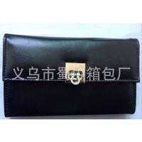 定制高档pu皮男式钱包钱夹  三折五折钱包 票夹 卡包