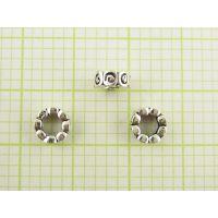 DIY泰银首饰配件加工生产批发 珠宝首饰来图来样加工定制工厂
