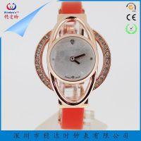 深圳手表定制厂家定制时尚女士石英手表为您私人定制【稳达时钟表】