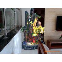 中国好货源 精品树脂假山 流水喷泉工艺品 摆件批发室内假山喷泉