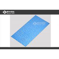 供应内蒙古304宝石蓝不锈钢蚀刻石纹 1.0mm镜面不锈钢蚀刻花纹
