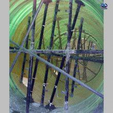 脱硫塔喷淋系统怎么设计 玻璃钢喷淋管道喷头 除雾器 DN50-600 河北华强