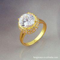 欧美爆款 铜银饰品加工厂供应欧美戒指 韩版戒指 个性戒指定做