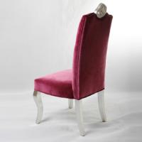 工厂直销伊姆斯椅子现代餐厅高档时尚布艺软包休闲椅