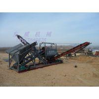 广东梅州滚筒筛沙机河道沙石筛分处理量的设备