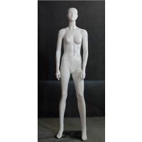 商场专用服装道具模特 美力优雅站姿时尚亮白抽象女模特衣架
