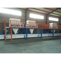 四川玻镁板制板机制作厂家-菱镁板生产线设备价格