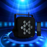邑琅光电 12颗 LED 无线电池帕灯 舞台 婚庆灯光