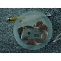 厂家供应1MM-12MM磨砂玻璃镜片磨砂玻璃订做加工