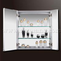 浴室镜柜、带灯镜柜、卫生间置物柜/储物柜、高端铝合金镜柜