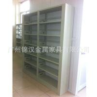 厂家生产销售单面书架 单面钢制图书架 欢迎订购