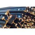 昆明鞍钢轨道钢经销商,昆明QU80钢轨报价