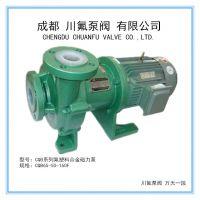 供庆磁力泵驱动离心泵配件耐酸碱耐腐蚀磁力泵成都川氟泵阀
