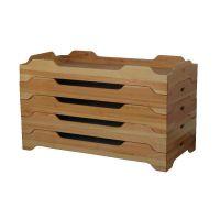 成都大林宝宝实木幼儿园重叠床