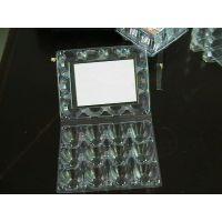 青岛厂家供应8枚带扣钉透明蛋托,鸡蛋塑料包装盒,皮蛋盒