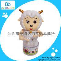 厂家直销 上链发条装糖玩具 打鼓喜羊羊 BB109862