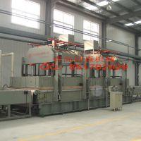 新型复合材料玻璃钢复合板层压机生产线设备厂青岛国森