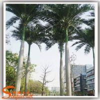 松涛工艺大型室内仿真大王椰子树 广东塑料假椰树价格优惠