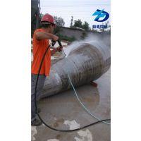 高压水喷砂不锈钢除锈方法