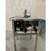 面筋串螺旋切割机,面筋串切花机-明途食品机械厂