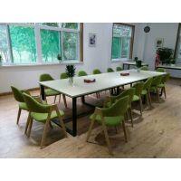 朗朗办公家具-开放板式会议桌、会谈桌