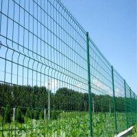 双边丝护栏网生产厂家 道路防护用优质浸塑双边丝护栏网