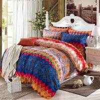 全棉四件套床上用品婚庆家纺加厚磨毛 纯棉四件套批发