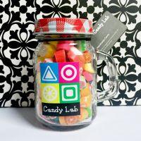 Candy Lab澳洲进口手工切片水果创意糖果 情人节礼物 茶杯瓶