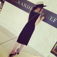 小银子2015夏装新款透气冰丝舒适抽绳撞色V领无袖长裙连衣裙Q5208
