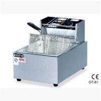 欧特专卖 OT-81 单缸单筛电炸炉 电炸锅 电炸炉 油炸锅