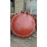 防洪排涝、农田灌溉、城市给排水 法兰式DN800铸铁拍门