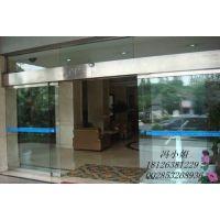 广州正品进品松下电机酒店豪华玻璃门厂家