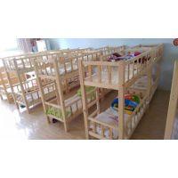 成都幼儿园床实木幼儿园上下床厂家