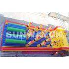 Rent Huge backyard SpongeBob tunnel Inflatable Obstacle Course