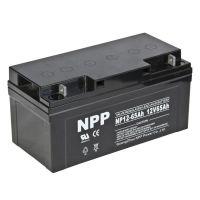 耐普蓄电池12V65AH NPP65-12UPS电源直流屏配套使用