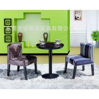 圆形木制餐台 木制圆桌 实木餐椅 实木餐厅家具(T547#)