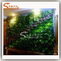 松涛工厂 装饰墙PVC泡沫等材质草墙 唯美组合绿人造草墙