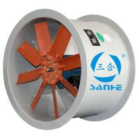 PPT35-II型聚丙烯轴流风机,广东三合风机供应电解锰废气处理设备