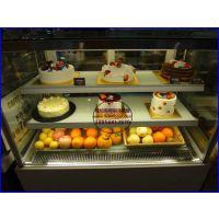 廊坊水果蛋糕保鲜展示柜 蛋糕房水果酸奶冷藏柜 后开门直角慕斯蛋糕柜