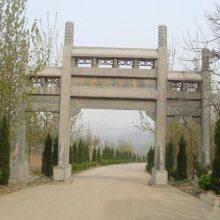 供应工艺精湛石牌坊 寺院石雕山门 景区大型石牌楼