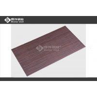 彩色不锈钢电梯门板【拉丝树皮纹镀红古铜】 厂家直销优质304铜板